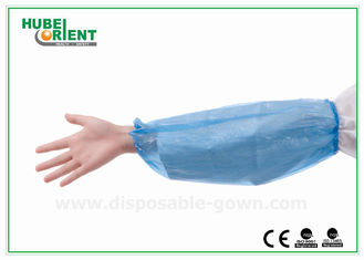 Waterproof 0.04mm PE Disposable Arm Sleeves For Hygienic Application