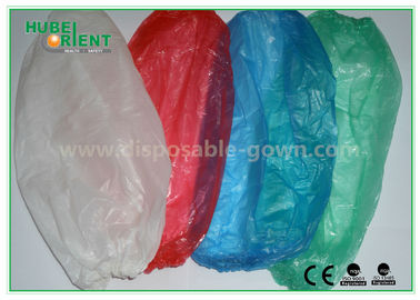 Free Sample clear plastic sleeves / blue disposable sleeve protectors for Clean room