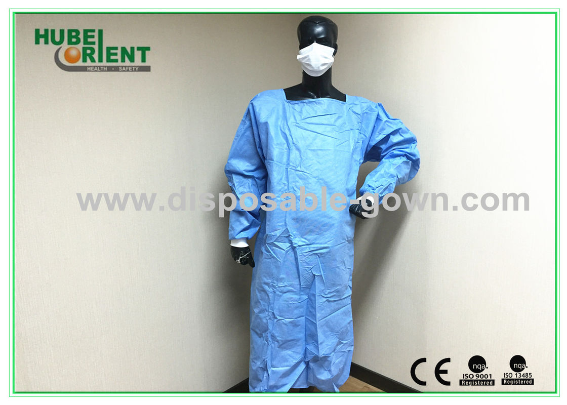 Anti Permeate Soft Disposable Surgical Gowns For Hospitals Latex Free